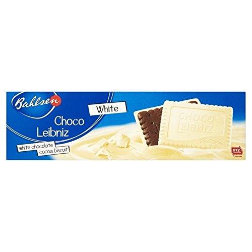 Bahlsen Choco Leibniz Biscuits Blancs 125G - Paquet de 2