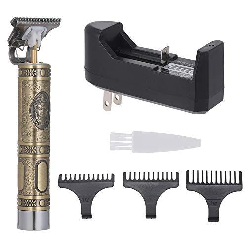 Anself Cortapelos Peluquería para Hombres, Máquinas Cortapelos Eléctricos para Hombres Maquina de Afeitar Professional para Uso Doméstico y Barbería Carga USB