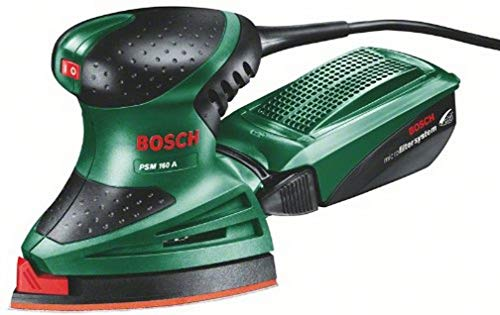Bosch Home and Garden 0.603.377.000 Bosch PSM 160 A - Multilijadora (aspirador integrado), W, 230 V