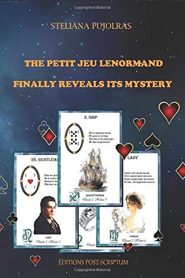 半径冗談でアミューズTHE PETIT JEU LENORMAND FINALLY REVEALS ITS MYSTERY