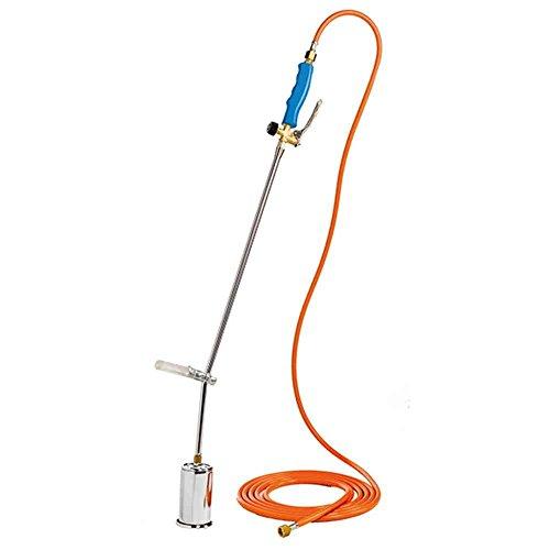 GLORIA Thermoflamm bio Professional, Unkrautbrenner, Unkrautvernichter, Gasbrenner, Grillanzünder, Betrieb mit Gasflasche, gegen Unkraut, Abflammgerät, Druckminderer erforderlich