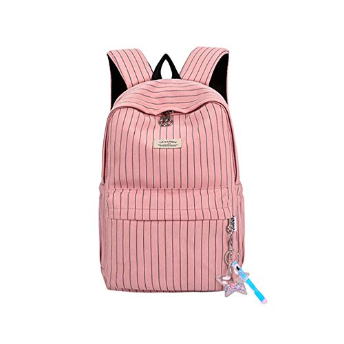 Backpacks, Fashion Backpack for Women College School Bag Fit for 15.6 Inches Laptop-pinkplaid