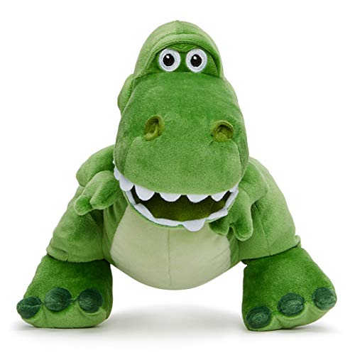 Disney Pixar Story 4 Rex Soft Toy in Gift Box 25 cm Historia DE Juguetes, Color Verde, (Posh Paws 37271)