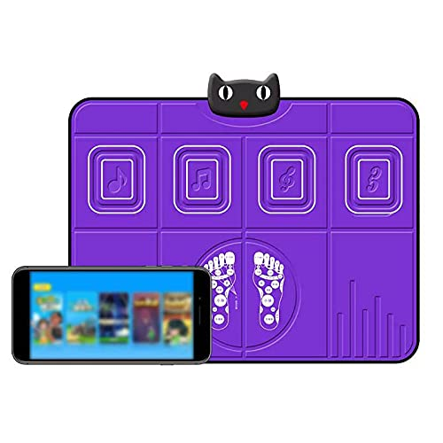 Tanzmatte-Bluetooth-Kompatibel Magic Anti-Rutsch-Matten Von Einzelspieler-Büro-Dekompressions-Kinderlauf-Fitnessmatte