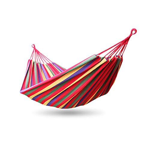 DMDM Indoor Hammock Canvas To Prevent Rollover, Safe And Firm Single Hammock 190 * 80cm, Used For Picnic And Camping