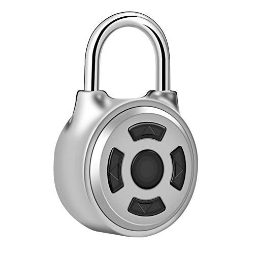 Candado, cerradura de seguridad con contraseña de metal, candado electrónico, cajones de control de aplicaciones para maletas, guardarropas de almacén