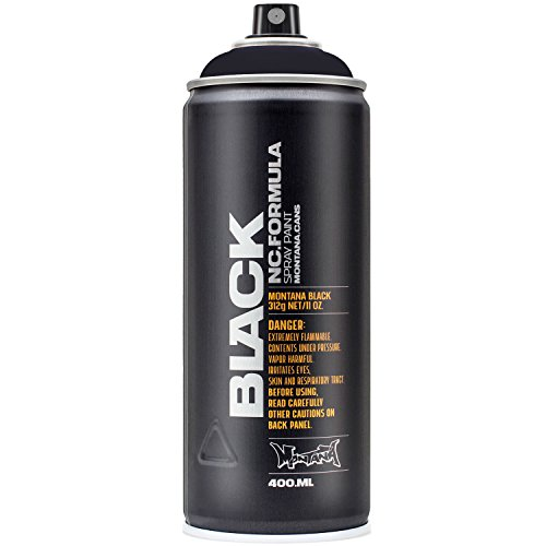 Montana BLACK Sprühdose CAN, 400 ml Black