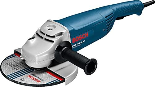 Bosch Professional GWS 24-230 JH - Amoladora angular (2500 W, 6500 rpm, Ø disco 230 mm, en caja)