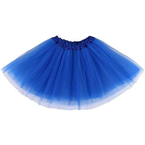 BETOY 2 pcs Mujeres Faldas Enaguas Cortas Tul Plisada Fiesta Tutu Ballet,Faldas Tul Mujer Enaguas Cortas Tutus Ballet Mini para Vestidos para Vestirse Disfraces