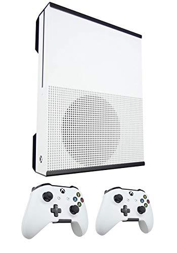 Xbox ONE S Montaggio a Parete E Controller Staffe Pacchetto (Nero) - Signature X Design Fatto IN The UK