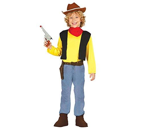 Disfraz de pistolero infantil (5-6 años): Amazon.es: Juguetes y juegos