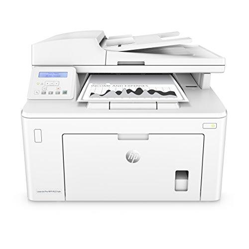 HP LaserJet Pro M227sdn Laser Multifunktionsdrucker (Schwarzweiß Drucker, Scanner, Kopierer, LAN, Airprint) weiß