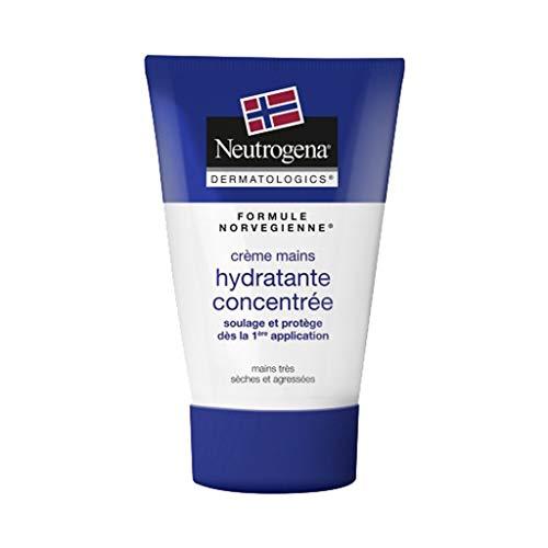 Neutrogena Formule Norvégienne Crème Mains Hydratante Concentrée Mains Très Sèches et Agressées 50ml (lot de 3)
