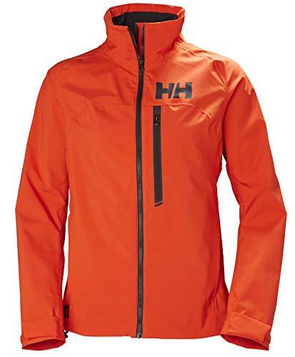 Helly Hansen HP Racing Resistente al Vento e Traspirante Colletto in Pile Marina Sportivo Navigazione, Giacca Impermeabile Donna, Cherry Tomato, XS