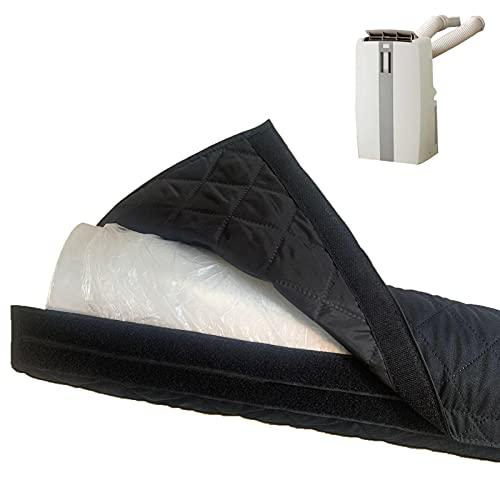 AIHOME Cubierta de manguera aislada para acondicionadores de aire portátiles, funda protectora para manguera, se adapta a la mayoría de marcas de tubos de escape de 5 y 6 pulgadas, L 59 pulgadas