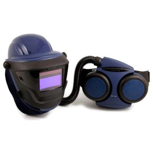 respiratory welding helmet