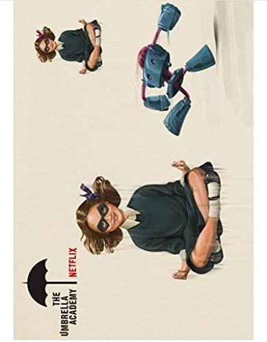 HUYUEXIN Canvas Poster TV Show The Umbrella Academy Poster Homedecal Pittura Wall Sticker per Coffee House Bar 50 * 70 Cm Rapporto qualità-Prezzo Senza Cornice