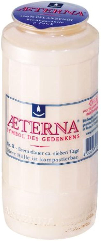 20er Pack Aeterna Grablichter Nr.8, wei