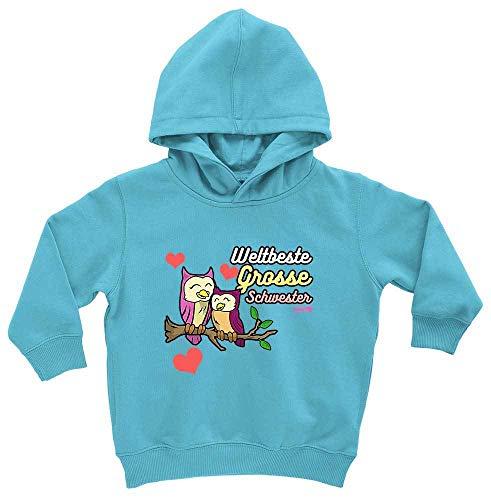 Hariz - Sudadera con capucha para bebé, diseño de búhos