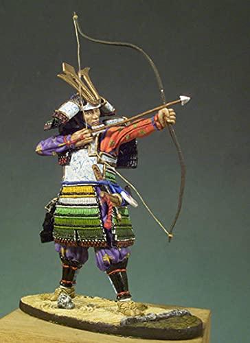 Risjc 1/32 54mm Resina Figura Modelo Antiguo Samurai Japonés sin montar y sin color Miniatura Kit //N10915