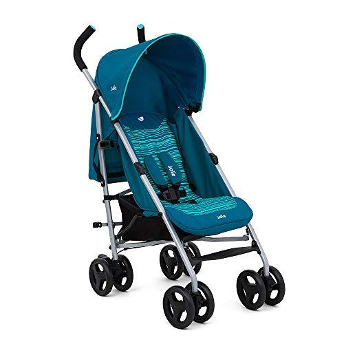 Joie Nitro Stroller - Blue Skewed Lines (Blue)