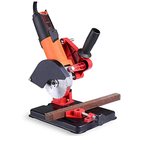 xiaocheng Winkelschleifer Halter Halterung Support Stand Maschinenständer 100-125mm Einstellbarer Werkzeugzubehör DIY Industrie Zubehör