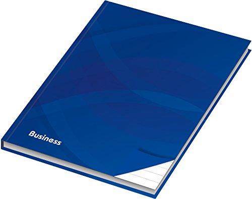 """RNK 46500 - Kladde/Notizbuch\""""Business blau\"""", liniert, DIN A4, 96 Blatt, 70 g/m², 1 Stück"""