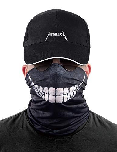 Neck Gaiter Face Cover Scarf Bandana 3D Headwear Magic Headband for Dust Outdoor Sports Festival for Men & Women