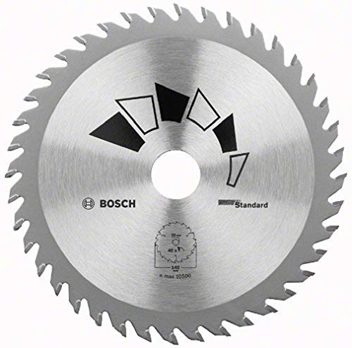 Bosch 2609256803 DIY Kreissägeblatt Basic 130 x 2.2 x 20/16,Z40