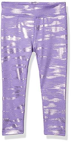 Under Armour Girls' Toddler Everyday Legging, Purple Crest H19, 2T
