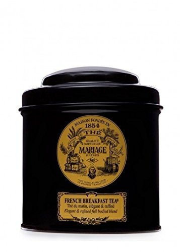 Mariage Freres. French Breakfast Tea 100g Loose Tea in a Tin Caddy (1 Pack)
