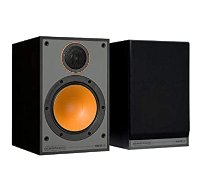 Monitor Audio 100 Speakers (Pair) (Black) by MONITOR AUDIO