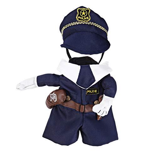 Uniforme Ueetek pour chien et chat, costume cosplay pour les fêtes de carnaval, taille M (pour...