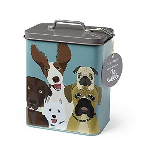 Burgon & Ball Creaturewares GCR/Dog Aufbewahrungsdose für Tierfutter The Rabble Hund