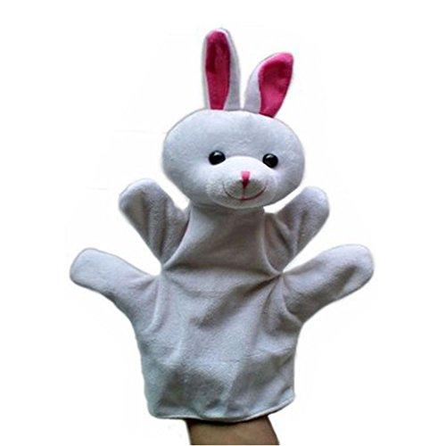 Black Temptation Precioso Conejo de Peluche Marionetas de Mano