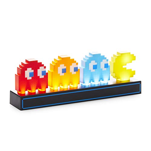 Paladone Lampada Pac Man And Ghosts, Multicolore