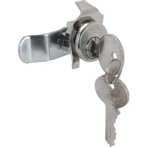 Defender Security S 4125 Mail Box Lock, Counter Clockwise Rotation, 5 Pin, Nickel Plated, Pack of 1