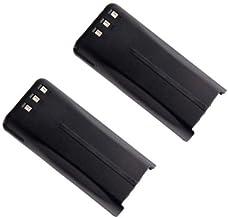 2 Pack New 7.4V 2000mAh Li-ion Portable Two-Way Radio Interphone Battery Kenwood KNB-45, KNB-45L, KNB-45Li for Kenwood Por...