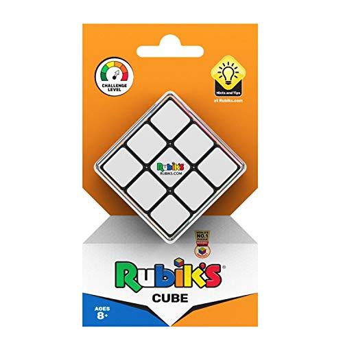 Rubik's Puzle de cubo mágico, 3 x 3 cm, para niños y adultos