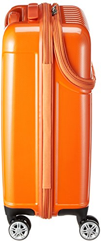 [アクタス]スーツケースジッパートップオープントップス機内持ち込み74-2031033L53.5cm3.2kgオレンジカーボン