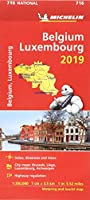 Belgium & Luxembourg 2019 - Michelin National Map 716 (Michelin National Maps)
