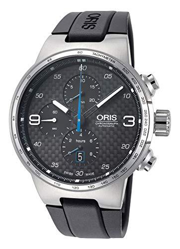 Oris Williams 77477174164RS - Cronografo da uomo con cinturino in gomma...