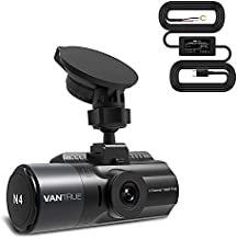 Bundle: Vantrue N4 Three Channel Dash Cam + Hardwire Kit