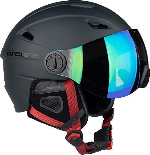 ARCORE MIRRAGE Casco de Esquí/Casco de Snowboard con Visera, Tamaño Ajustable, para...