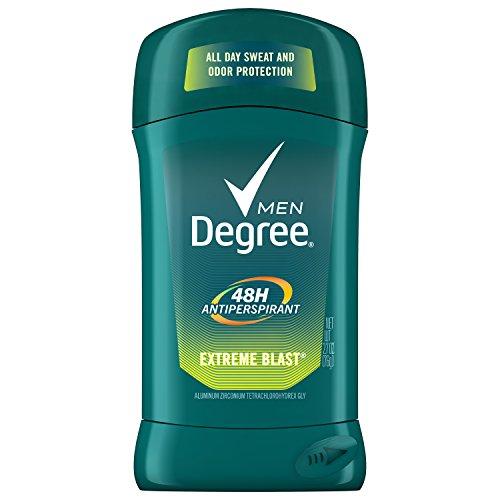 Degree Men Extreme Blast 48 Hour Protection Antiperspirant Deodorant Stick, 2.7 Oz.