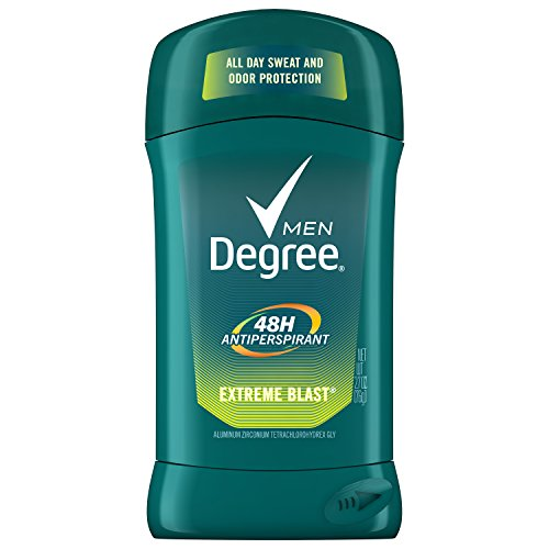 Degree Men Original Protection Antiperspirant Deodorant, Extreme Blast, 2.7 oz SINGLE