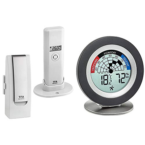 Blooming Weather 31.4007.02 WEATHER HUB Kit with Thermometer for Smartphones W