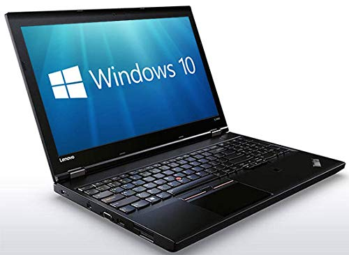 Lenovo ThinkPad L560 Laptop PC - 15.6' Full HD (1920x1080) Intel Core i5-6300U 8GB 256GB SSD WebCam WiFi Windows 10 Professional 64-bit (Renewed)