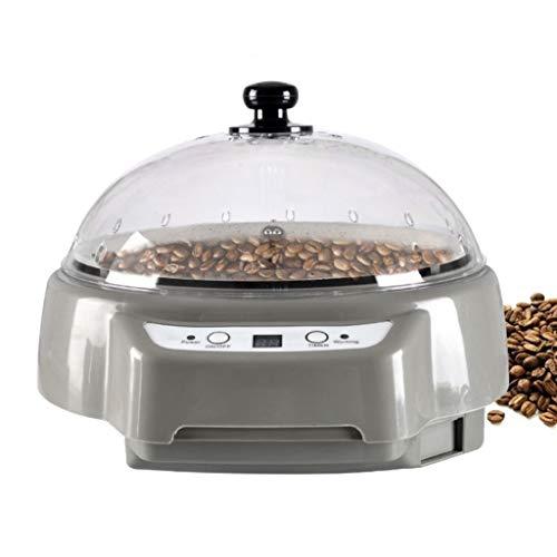 HUIXINLIANG Kaffee-Röster, Kleiner Haushalt elektrischer Kaffee-Röster für Heimnutzung Home Kaffee-Röster 500W 110V / 220V (Color : Gray)