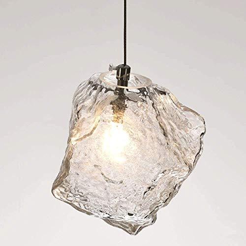ZCCL Candelabro de Escalera, candelabro de luz Colgante de Cubo de Hielo Creativo para Dormitorio, Restaurante, lámpara de Techo de diseño Elegante
